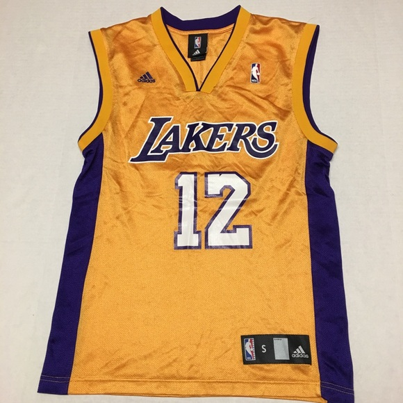 d125aa78032 adidas Shirts   Los Angeles Lakers Shannon Brown Jersey 12   Poshmark